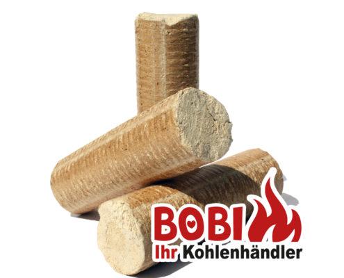 Bobi Kohlenhandel Wien - Holzbriketts ohne Loch