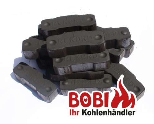 Bobi Kohlenhandel Wien - Rekord Briketts